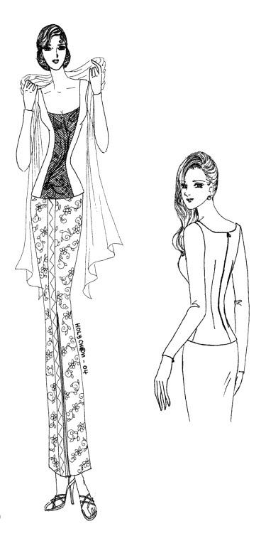 Cara Membuat Pola Baju Kebaya